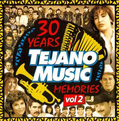 30 YEARS OF TEJANO MUSIC MEMORIES V2 (CD)